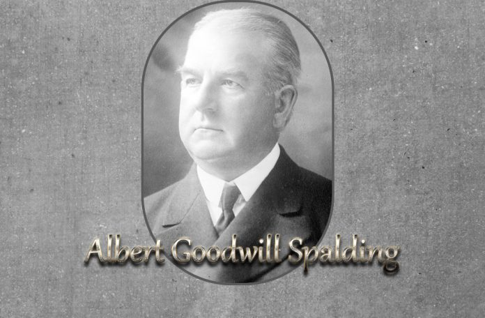 Albert Goodwill Spalding baseball