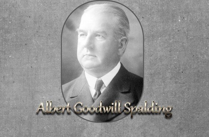Albert Goodwill Spalding baseball