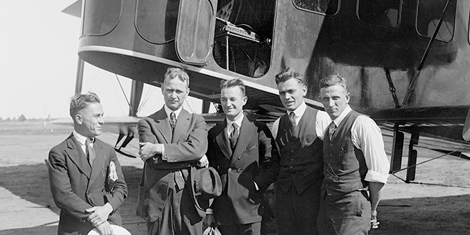 Alfred Lawson Aviation career