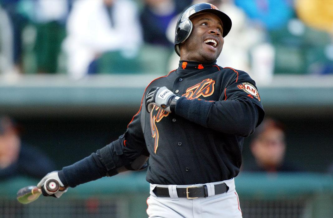 Barry Bonds baseball