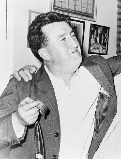 Brendan Behan bigraphy, stories - Irish poet, short story writer, novelist, and playwright
