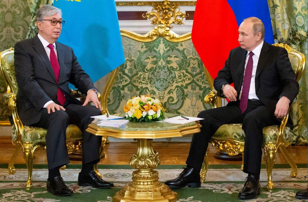Tokayev and Putin