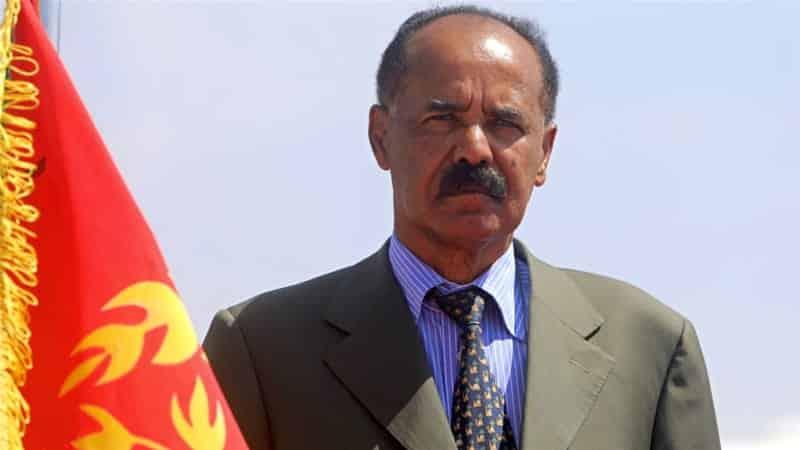 Isaias Afwerki longest serving president