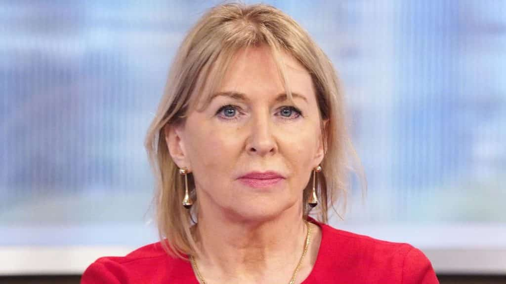 Nadine Dorries a famous celebrity to suffer from Corona