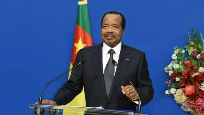 Paul Biya Cameroonian president