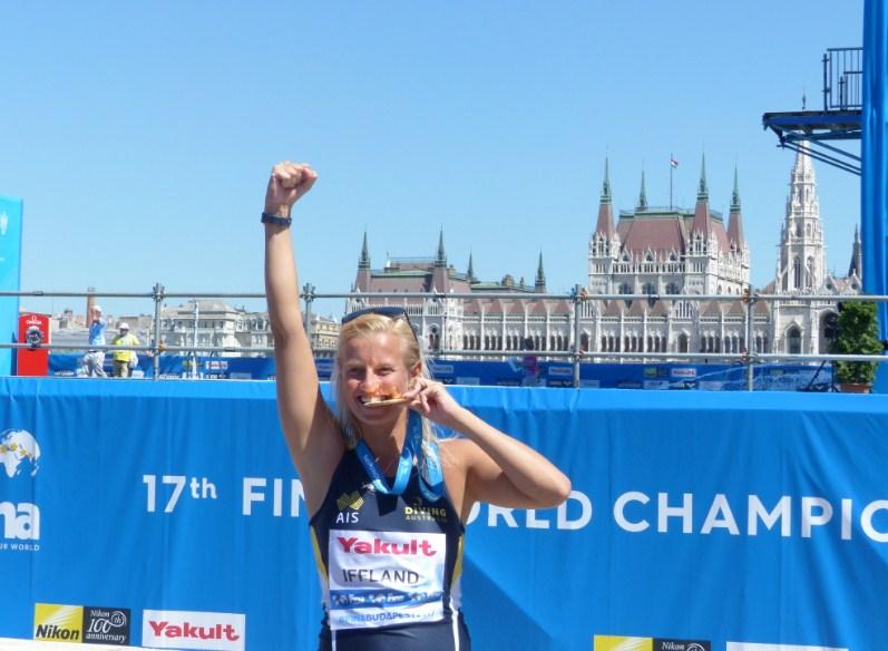 Rhiannan Iffland a woman Redbull athlete