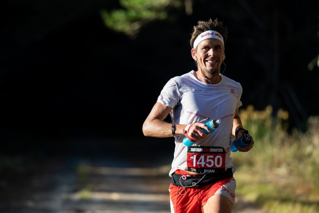 Ryan Sandes protease famous trail runner