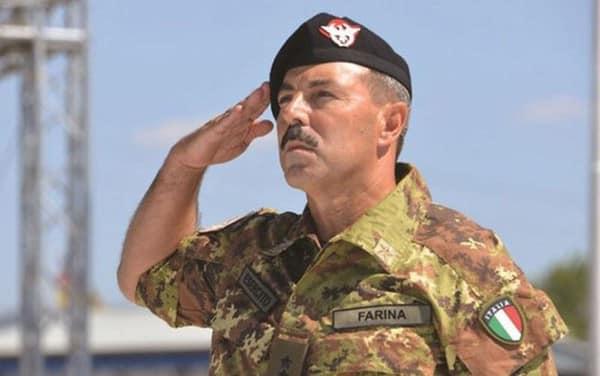 Salvatore Farina Italian Army chief