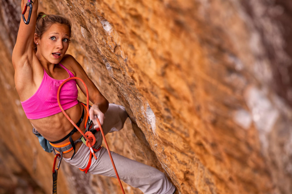 Sasha Digiulian the famous rock climber