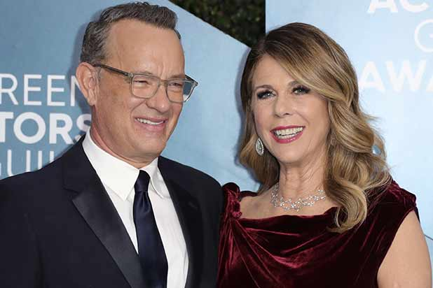 Tom Hanks and Rita Wilson famous celebrities affected by Corona