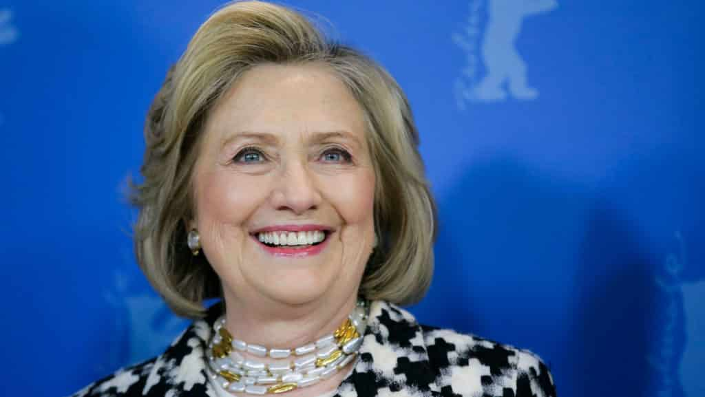 Hillary Clinton famous female politician