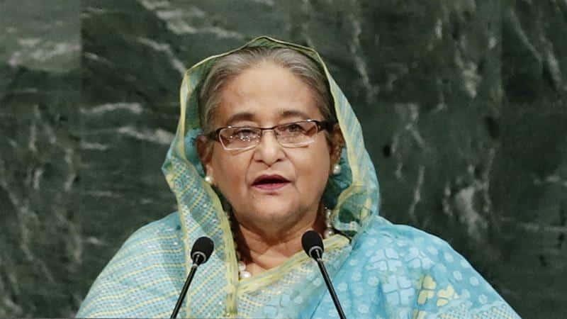 Sheikh Hasina famous female