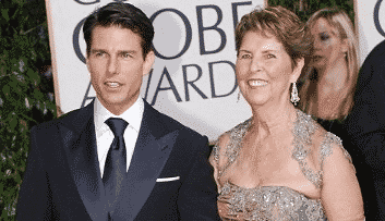 Tom Cruise and Mary Lee Pfeiffer