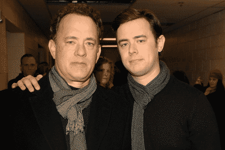Tom Hanks and Colin Hanks
