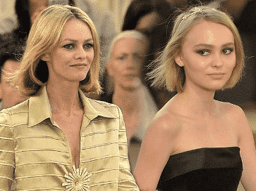 Vanessa Paradis and Lily-Rose Melody Depp