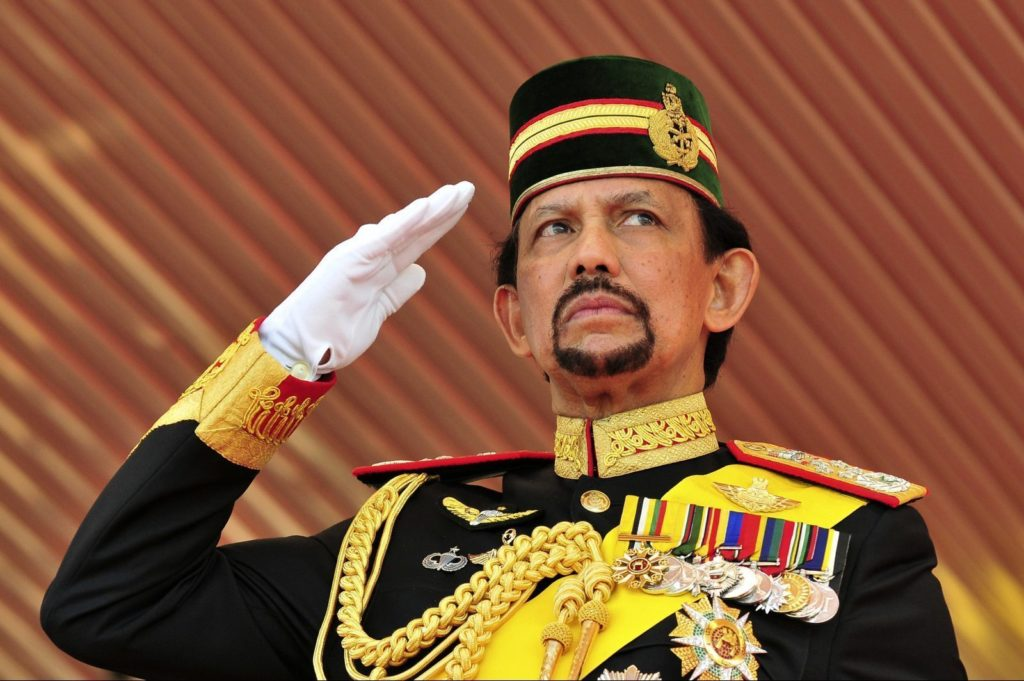 Hassanal Bolkiah famous rich ruler