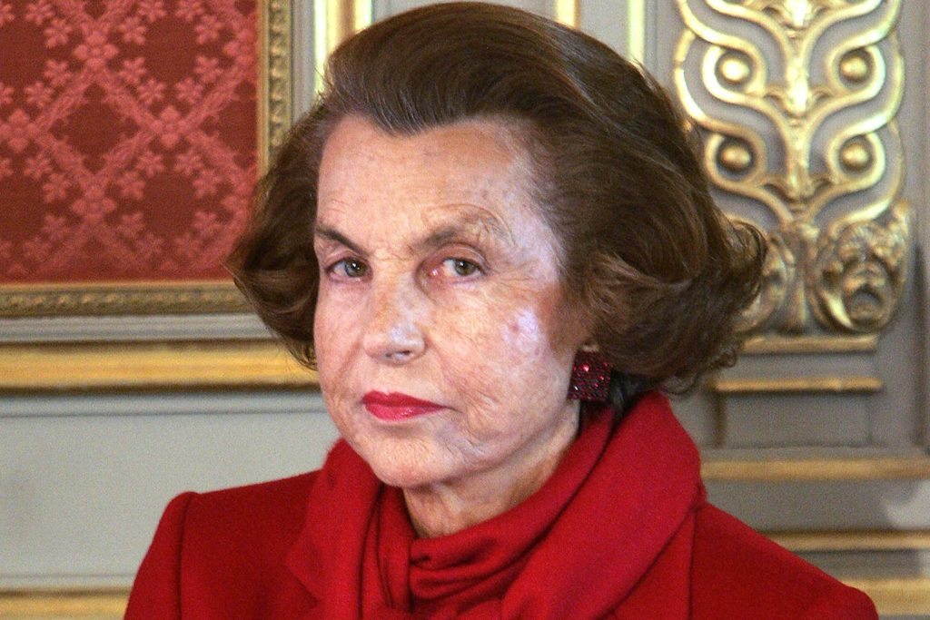 Liliane Bettencourt famous billionaire