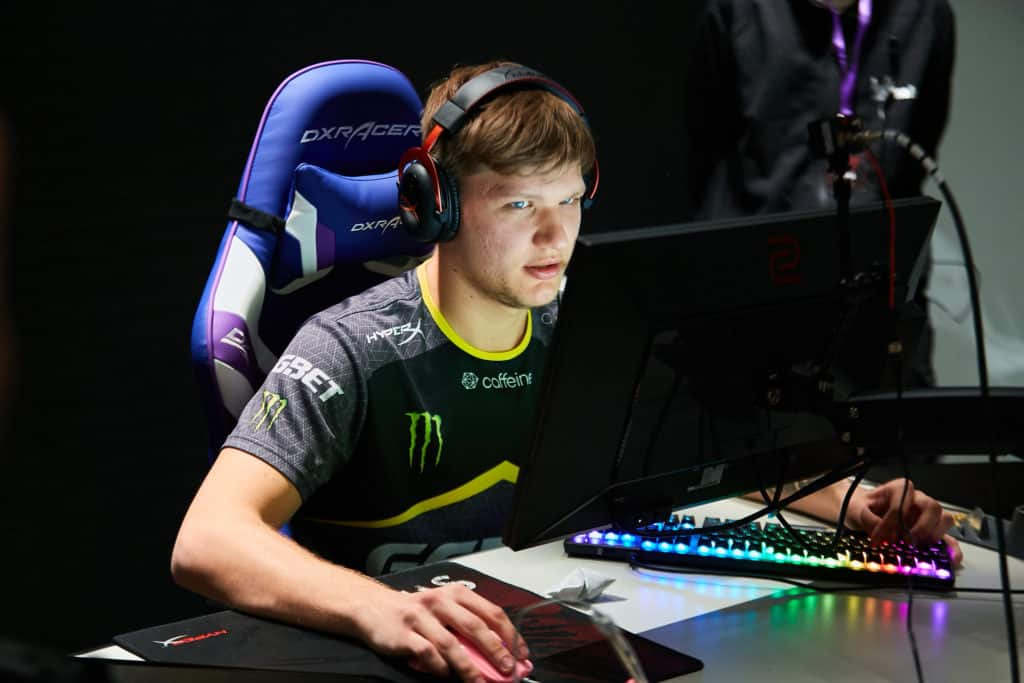 s1mple one of the famous counter strike player