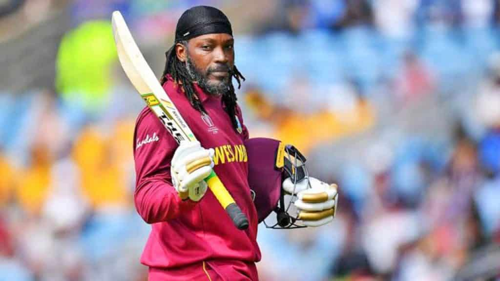 Chris Gayle one of the famous modern cricketers