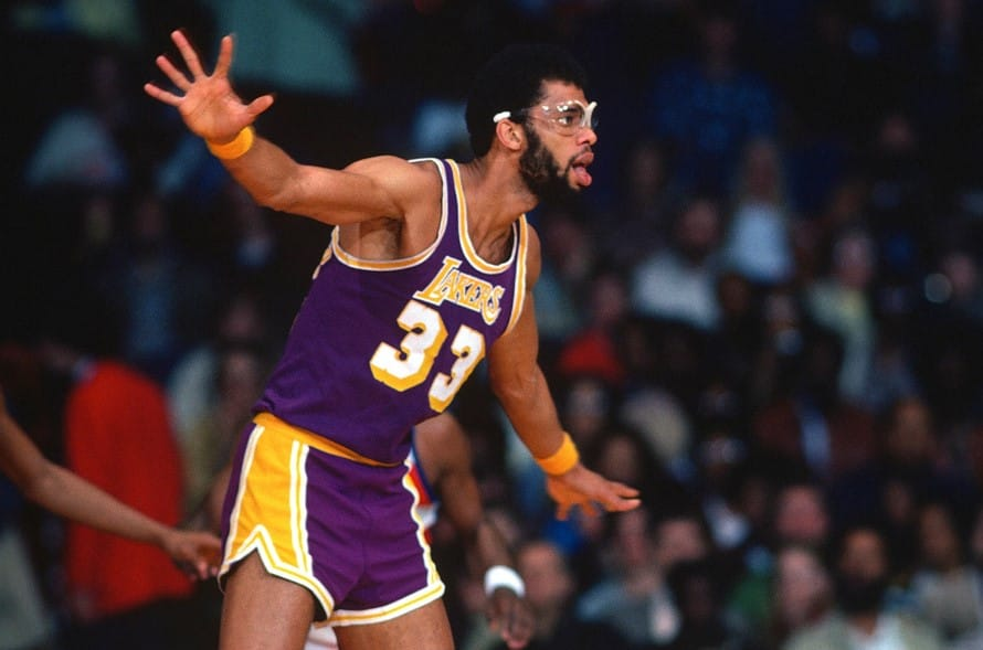Kareem Abdul- Jabbar Famous basketball player