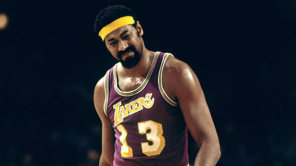 Wilt Chamberlain famous basketball player