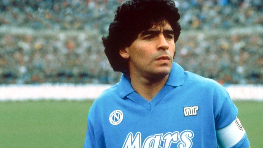 Maradona famous footbal player