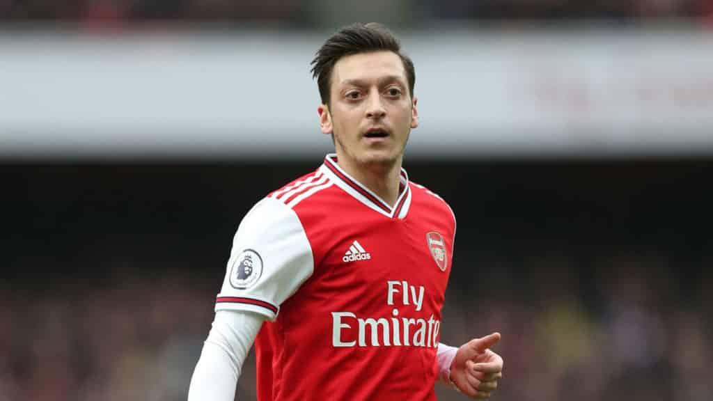 Mesut Ozil famous football player
