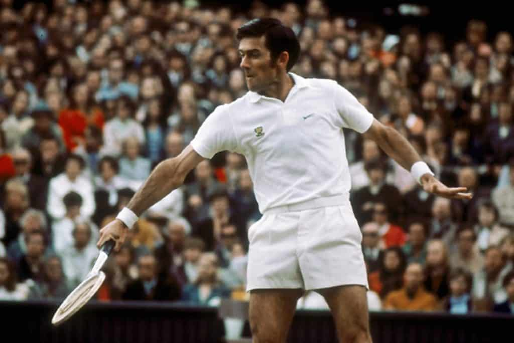 Ken Rosewall former one of the famous tennis player