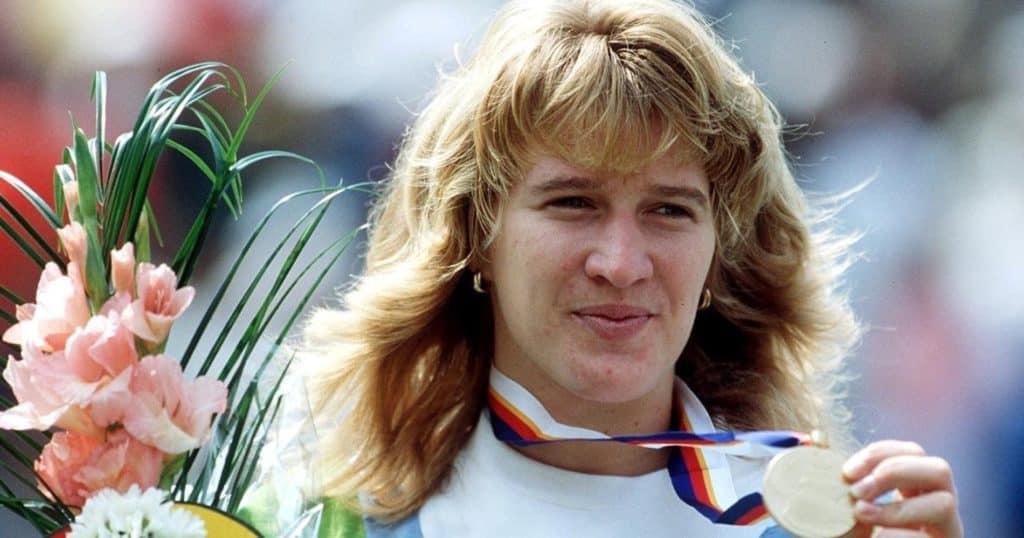 Steffi Graf a famous tennis player